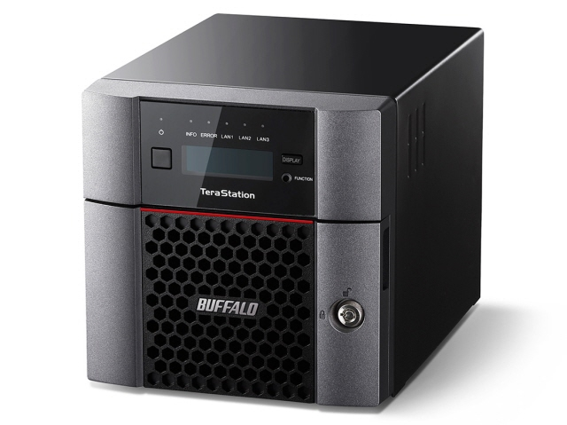 【キャッシュレス 5% 還元】 バッファロー NAS TeraStation TS5210DN0802 [ドライブベイ数:HDDx2 容量:HDD:8TB] 【】 【人気】 【売れ筋】【価格】