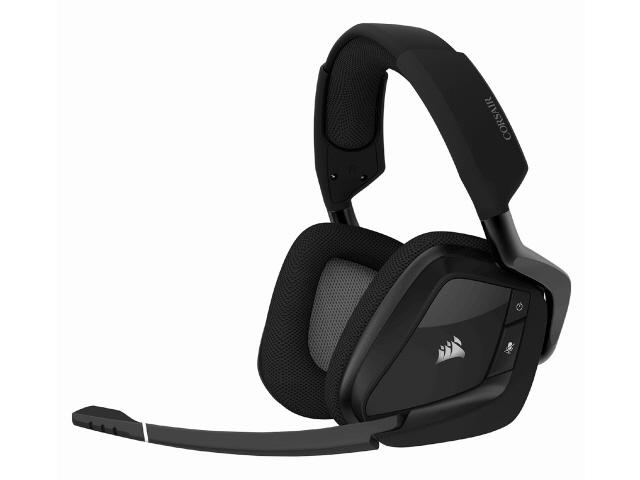 【キャッシュレス 5% 還元】 Corsair ヘッドセット VOID RGB ELITE Wireless CA-9011201-AP [カーボン] [ヘッドホンタイプ:オーバーヘッド 装着タイプ:両耳用] 【】 【人気】 【売れ筋】【価格】