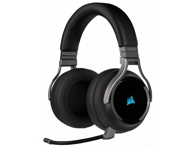 【キャッシュレス 5% 還元】 Corsair ヘッドセット VIRTUOSO RGB WIRELESS CA-9011185-AP [カーボン] [ヘッドホンタイプ:オーバーヘッド プラグ形状:USB/ミニプラグ 装着タイプ:両耳用] 【】 【人気】 【売れ筋】【価格】