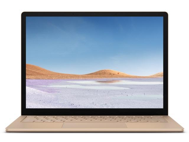 【キャッシュレス 5% 還元】 マイクロソフト ノートパソコン Surface Laptop 3 13.5インチ VEF-00081 [サンドストーン] 【】 【人気】 【売れ筋】【価格】