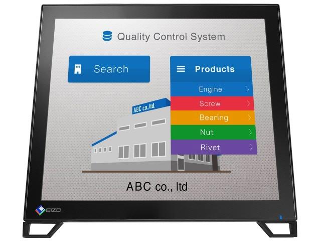 【キャッシュレス 5% 還元】 EIZO 液晶モニタ・液晶ディスプレイ DuraVision FDS1782T-LBK [17インチ ブラック] [モニタサイズ:17インチ モニタタイプ:スクエア 解像度(規格):SXGA 入力端子:DVIx1/D-Subx1/USBx1/DisplayPortx1]