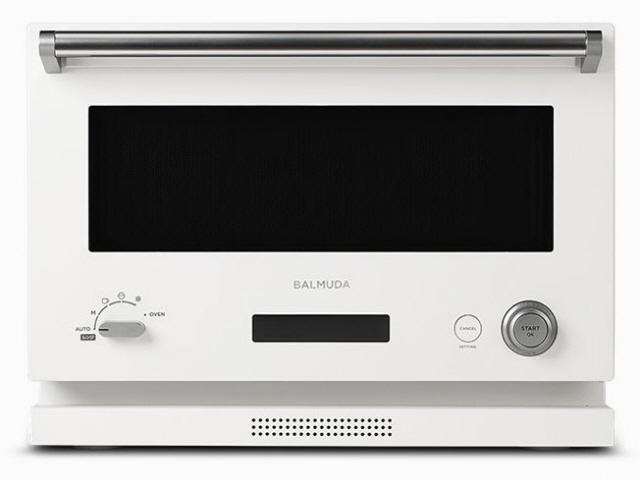 【キャッシュレス 5% 還元】 【代引不可】バルミューダ オーブン The Range K04A-WH [ホワイト] [タイプ:オーブンレンジ 庫内容量:18L 最大レンジ出力:800W] 【】 【人気】 【売れ筋】【価格】
