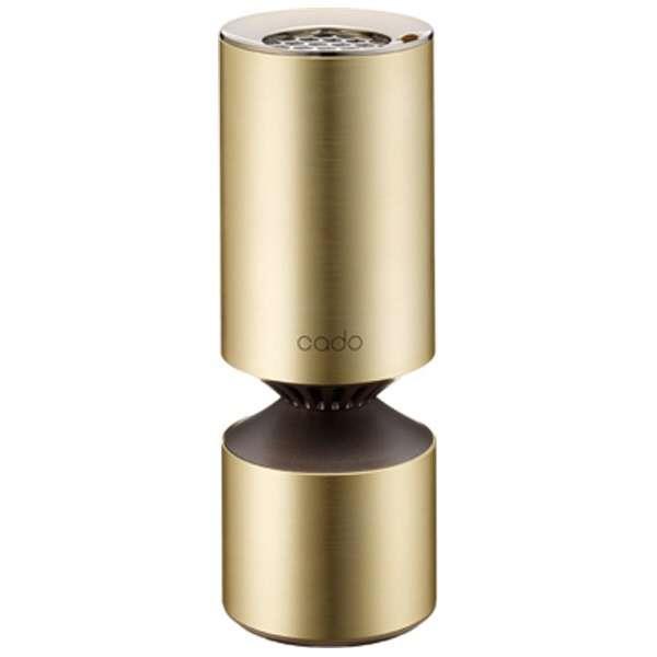 【キャッシュレス 5% 還元】 cado 空気清浄機 MP-C20U [ゴールド] [タイプ:空気清浄機 フィルター種類:HEPA PM2.5対応:○] 【】 【人気】 【売れ筋】【価格】