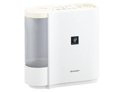 【キャッシュレス 5% 還元】 シャープ 加湿器 HV-H30-W [アイボリーホワイト] [加湿タイプ:気化式 設置タイプ:据え置き 適用畳数(木造和室):5畳 適用畳数(プレハブ洋室):8畳 タンク容量:2.4L その他機能:自動運転/除菌/DCモーター]