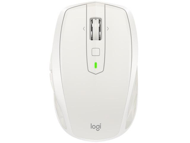 【キャッシュレス 5% 還元】 ロジクール マウス MX Anywhere 2S Wireless Mobile Mouse MX1600sGY [ライトグレー] [タイプ:レーザーマウス インターフェイス:Bluetooth/無線2.4GHz その他機能:チルトホイール/カウント切り替え可能 重さ:106g]
