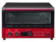 【キャッシュレス 5% 還元】 日立 トースター VEGEE HMO-F100(R) [メタリックレッド] [タイプ:コンベクションオーブン 同時トースト数:4枚 消費電力:1300W] 【】 【人気】 【売れ筋】【価格】