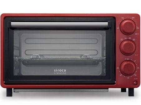 【キャッシュレス 5% 還元】 シロカ トースター siroca crossline SCO-502RD [レッド] [タイプ:コンベクションオーブン 同時トースト数:4枚 消費電力:1200W] 【】 【人気】 【売れ筋】【価格】