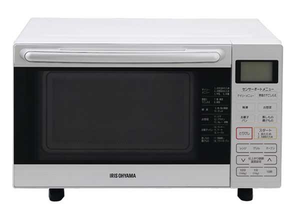 【キャッシュレス 5% 還元】 【代引不可】アイリスオーヤマ オーブン MO-F1801-W [ホワイト] [タイプ:オーブンレンジ 庫内容量:18L 最大レンジ出力:900W] 【】 【人気】 【売れ筋】【価格】