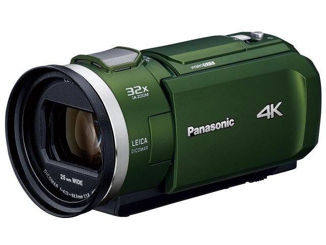 【キャッシュレス 5% 還元】 パナソニック ビデオカメラ HC-VZX2M-G [フォレストカーキ] [タイプ:ハンディカメラ 画質:4K 撮影時間:100分 本体重量:430g 撮像素子:MOS 1/2.5型 動画有効画素数:829万画素] 【】 【人気】 【売れ筋】【価格】