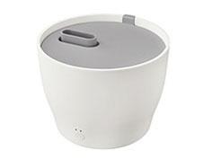 【キャッシュレス 5% 還元】 プラスマイナスゼロ 加湿器 XQK-Z210(W) [ホワイト] [加湿タイプ:スチーム式 設置タイプ:据え置き 適用畳数(木造和室):6畳 適用畳数(プレハブ洋室):10畳 タンク容量:2L その他機能:アロマ]