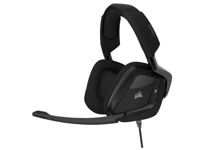 【キャッシュレス 5% 還元】 Corsair ヘッドセット VOID ELITE SURROUND CA-9011205-AP [カーボン] [ヘッドホンタイプ:オーバーヘッド プラグ形状:USB/ミニプラグ 片耳用/両耳用:両耳用 ケーブル長さ:1.8m] 【】 【人気】 【売れ筋】【価格】