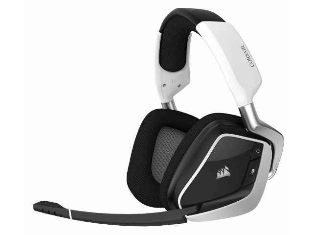 【キャッシュレス 5% 還元】 Corsair ヘッドセット VOID RGB ELITE Wireless CA-9011202-AP [ホワイト] [ヘッドホンタイプ:オーバーヘッド 装着タイプ:両耳用] 【】 【人気】 【売れ筋】【価格】