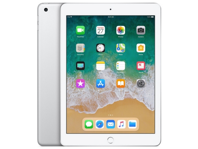 【ポイント5倍】Apple タブレットPC(端末)・PDA iPad 9.7インチ Wi-Fiモデル 32GB MR7G2J/A [シルバー] [OS種類:iOS 11 画面サイズ:9.7インチ CPU:Apple A10 ストレージ容量:32GB]  【人気】 【売れ筋】【価格】