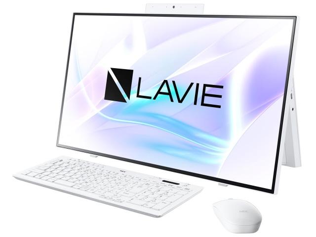 NECデスクトップPCの2020年春モデル NEC デスクトップパソコン LAVIE Home All-in-one HA700 人気 PC-HA700RAW 価格 全品最安値に挑戦 RAW ファインホワイト プレゼント 売れ筋
