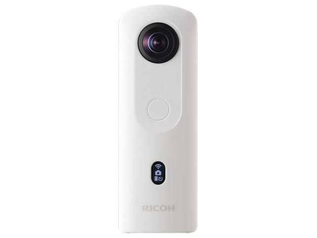 【ポイント5倍】リコー デジタルカメラ RICOH THETA SC2 [ホワイト] [画素数:1200万画素(有効画素)x2 撮影枚数:260枚]  【人気】 【売れ筋】【価格】
