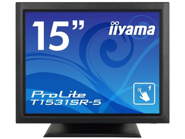 【キャッシュレス 5% 還元】 iiyama 液晶モニタ・液晶ディスプレイ ProLite T1531SR-5 T1531SR-B5 [15インチ マーベルブラック] [モニタサイズ:15インチ モニタタイプ:スクエア 解像度(規格):XGA 入力端子:D-Subx1/HDMIx1/USBx1/DisplayPortx1]