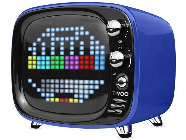 【キャッシュレス 5% 還元】 Divoom Bluetoothスピーカー TIVOO DIV-TIVOO-BL [ブルー] [Bluetooth:○ 駆動時間:音楽再生時間:約8時間] 【】 【人気】 【売れ筋】【価格】