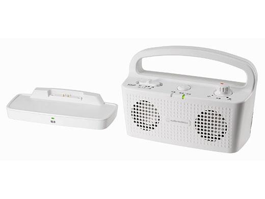 【キャッシュレス 5% 還元】 【代引不可】オーディオテクニカ Bluetoothスピーカー SOUND ASSIST AT-SP767XTV WH [ホワイト] [駆動時間:連続使用時間:最大約16時間] 【】 【人気】 【売れ筋】【価格】