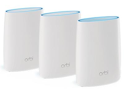【ポイント5倍】NETGEAR 無線LANブロードバンドルーター Orbi RBK53-200JPS [無線LAN規格:IEEE802.11a/b/g/n/ac]  【人気】 【売れ筋】【価格】
