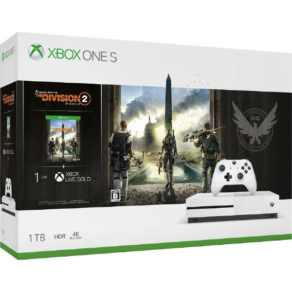 【キャッシュレス 5% 還元】 マイクロソフト ゲーム機 Xbox One S ディビジョン2 同梱版 [1TB] 【】 【人気】 【売れ筋】【価格】