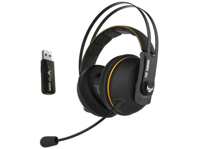 ASUS ヘッドセット TUF GAMING H7 Wireless [イエロー] [ヘッドホンタイプ:オーバーヘッド 装着タイプ:両耳用] 【】 【人気】 【売れ筋】【価格】