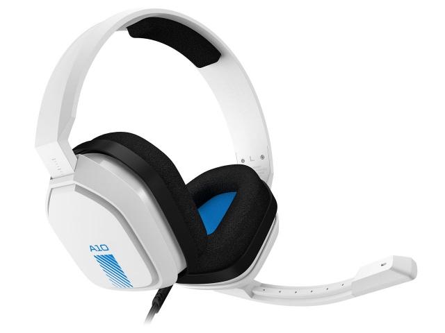 ロジクール ヘッドセット Astro A10 Headset A10-PSWH [ホワイト/ブルー] [ヘッドホンタイプ:オーバーヘッド プラグ形状:ミニプラグ 装着タイプ:両耳用 ケーブル長さ:2m] 【】 【人気】 【売れ筋】【価格】