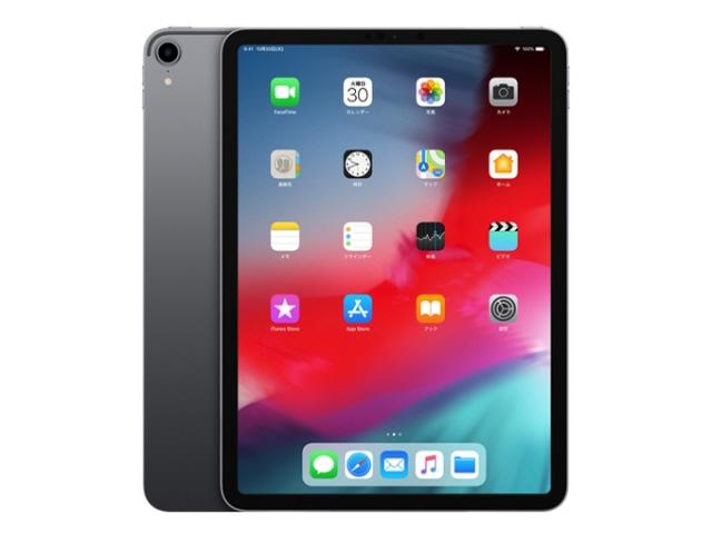 【キャッシュレス 5% 還元】 Apple タブレットPC(端末)・PDA iPad Pro 11インチ 第1世代 Wi-Fi 512GB MTXT2J/A [スペースグレイ] [OS種類:iOS 12 画面サイズ:11インチ CPU:Apple A12X ストレージ容量:512GB] 【】 【人気】 【売れ筋】【価格】