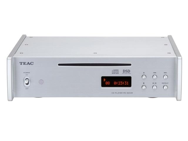 【キャッシュレス 5% 還元】 TEAC CDプレーヤー PD-501HR-SE-S [Silver] [周波数特性(最小):20Hz 周波数特性(最大):80KHz]  【人気】 【売れ筋】【価格】