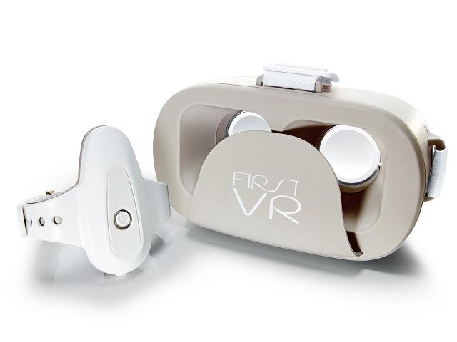 【キャッシュレス 5% 還元】 H2L VRゴーグル・VRヘッドセット FirstVR FVR-SET01 [タイプ:VRゴーグル 対応機器:4.7~6インチ画面のスマートフォン] 【】 【人気】 【売れ筋】【価格】