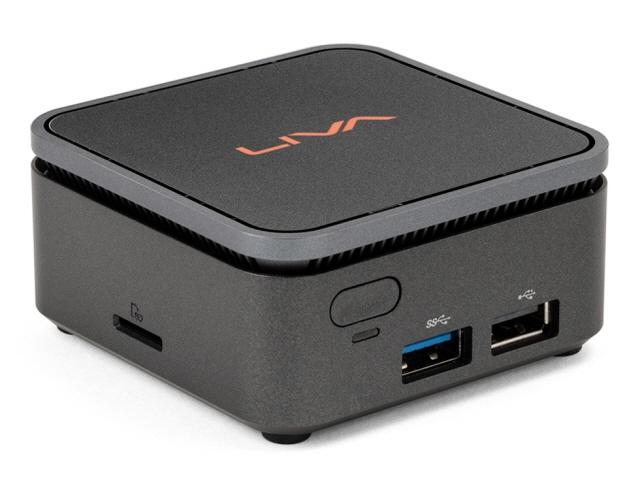 【キャッシュレス 5% 還元】 ECS デスクトップパソコン LIVA Q2 Pro LIVAQ2-4/64-W10Pro(N4000) [CPU種類:インテル Celeron N4000(Gemini Lake) メモリ容量:4GB ストレージ容量:eMMC:64GB OS:Windows 10 Pro 64bit]  【人気】 【売れ筋】【価格】