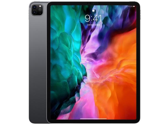 Apple タブレットPC(端末)・PDA iPad Pro 12.9インチ 第4世代 Wi-Fi 256GB 2020年春モデル MXAT2J/A [スペースグレイ] [画面サイズ:12.9インチ 画面解像度:2732x2048 詳細OS種類:iPadOS ネットワーク接続タイプ:Wi-Fiモデル ストレージ容量:256GB CPU:Apple A12Z]