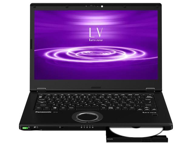 モバイルノートPC Let'snote の2020年春モデル パナソニック ノートパソコン Let's 爆売り note LV8 CF-LV8PDNQR 画面サイズ:14インチ CPU:第8世代 インテル Core i7 メモリ容量:8GB 8565U 倉 10 ストレージ容量:SSD:512GB OS:Windows Lake 4コア 64bit 重量:1.405kg CPUスコア:6408 Pro 1.8GHz Whiskey