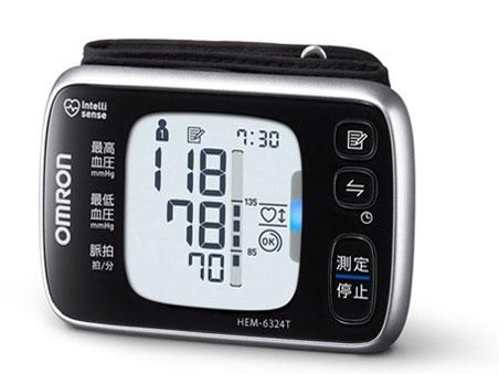 オムロン 血圧計 HEM-6324T [計測方式:手首式 電源:乾電池 メモリー機能:2人×100回] 【】 【人気】 【売れ筋】【価格】