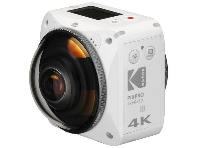 コダック ビデオカメラ PIXPRO 4KVR360 [タイプ:アクションカメラ 画質:4K 撮像素子:CMOS 1/2.3型×2]  【人気】 【売れ筋】【価格】