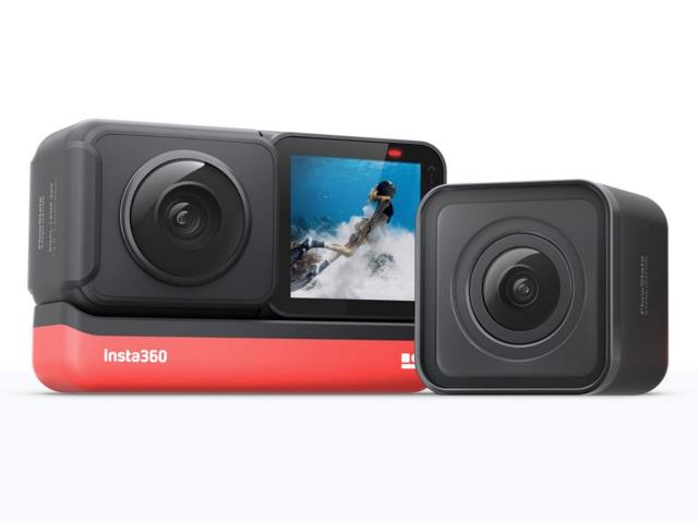 【キャッシュレス 5% 還元】 【ポイント5倍】Insta360 ビデオカメラ Insta360 ONE R ツイン版 [タイプ:アクションカメラ]  【人気】 【売れ筋】【価格】