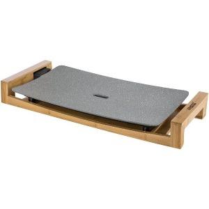 【キャッシュレス 5% 還元】 【ポイント5倍】プリンセス ホットプレート Table Grill Stone 103032 [グレー] [タイプ:ホットプレート 形状:長方形 サイズ:614x70x222mm 重量:3.4kg]  【人気】 【売れ筋】【価格】