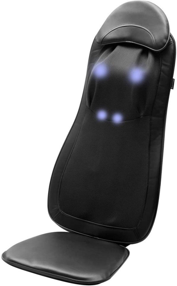 【キャッシュレス 5% 還元】 【代引不可】ドリームファクトリー マッサージ器 Dr.Air 3Dマッサージシートプレミアム MS-002BK [ブラック] [タイプ:シートマッサージ マッサージ部位:首/肩/背中/腰 寸法:46x126x12cm]