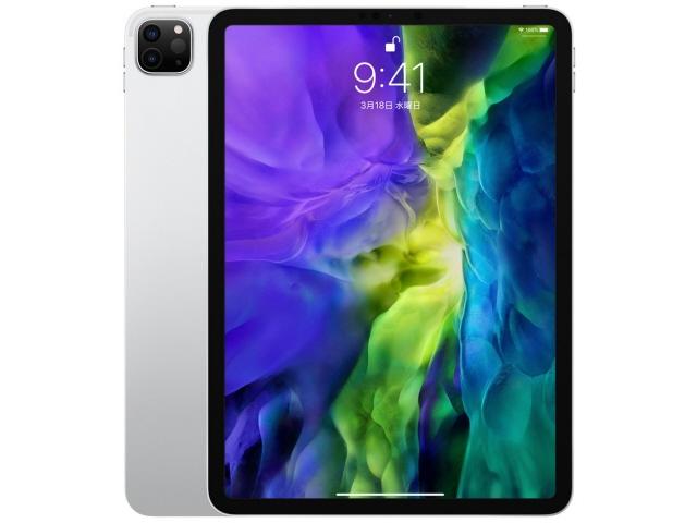 【キャッシュレス 5% 還元】 Apple タブレットPC(端末)・PDA iPad Pro 11インチ 第2世代 Wi-Fi 128GB 2020年春モデル MY252J/A [シルバー] [OS種類:iPadOS 画面サイズ:11インチ CPU:Apple A12Z ストレージ容量:128GB]