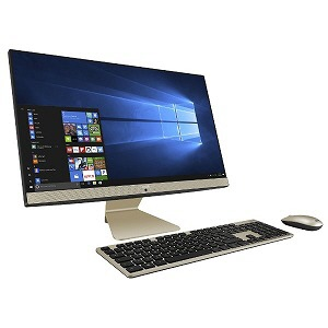 【キャッシュレス 5% 還元】 ASUS デスクトップパソコン Vivo AiO V241FAK V241FAK-I5HB2019 [画面サイズ:23.8インチ CPU種類:第8世代 インテル Core i5 8265U(Whiskey Lake) メモリ容量:8GB ストレージ容量:SSD:512GB OS:Windows 10 Home 64bit]