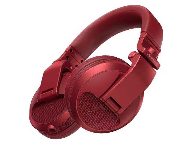 【キャッシュレス 5% 還元】 【ポイント5倍】パイオニア イヤホン・ヘッドホン HDJ-X5BT-R [メタリックレッド] [タイプ:オーバーヘッド 装着方式:両耳 構造:密閉型(クローズド) 駆動方式:ダイナミック型 再生周波数帯域:5Hz~30kHz]