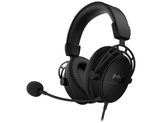 【キャッシュレス 5% 還元】 キングストン ヘッドセット HyperX Cloud Alpha S HX-HSCAS-BK/WW [フラットブラック] [ヘッドホンタイプ:オーバーヘッド プラグ形状:ミニプラグ 装着タイプ:両耳用 ケーブル長さ:1m] 【】 【人気】 【売れ筋】【価格】