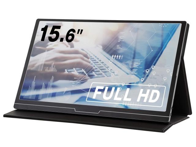 【キャッシュレス 5% 還元】 グリーンハウス 液晶モニタ・液晶ディスプレイ GH-LCU16A-BK [15.6インチ] [モニタサイズ:15.6インチ モニタタイプ:ワイド 解像度(規格):フルHD(1920x1080) 入力端子:miniHDMIx1/USB Type-Cx1]