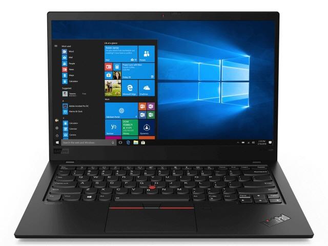 【キャッシュレス 5% 還元】 Lenovo ノートパソコン ThinkPad X1 Carbon 20QD0019JP [画面サイズ:14インチ CPU:第8世代 インテル Core i5 8265U(Whiskey Lake)/1.6GHz/4コア CPUスコア:7972 ストレージ容量:SSD:256GB メモリ容量:8GB OS:Windows 10 Pro 64bit]