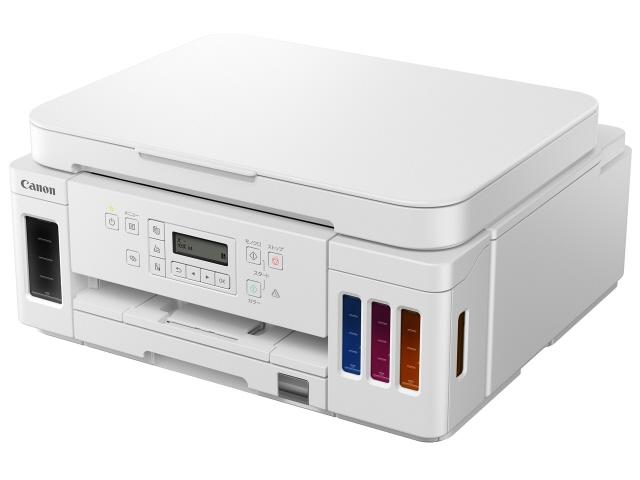 【キャッシュレス 5% 還元】 CANON プリンタ G6030 [ホワイト] [タイプ:インクジェット 最大用紙サイズ:A4 解像度:4800x1200dpi 機能:コピー/スキャナ] 【】 【人気】 【売れ筋】【価格】