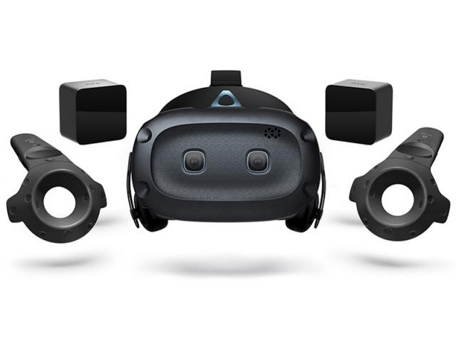 【キャッシュレス 5% 還元】 HTC VRゴーグル・VRヘッドセット VIVE Cosmos Elite 99HART006-00 [タイプ:VRヘッドセット 対応機器:Windows10のパソコン ディスプレイタイプ:LCD ディスプレイ解像度:片目あたり:1440x1700/合計:2880x1700]