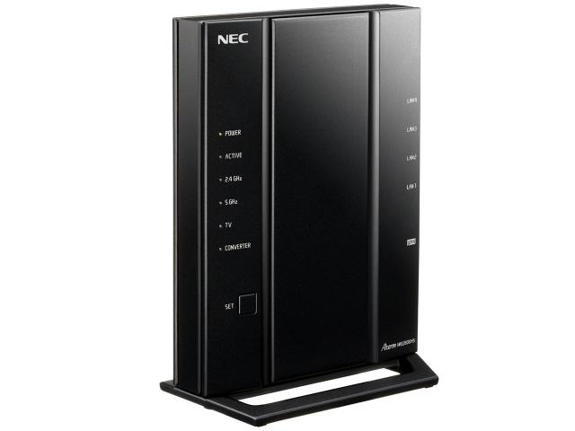 キャッシュレス 5% 還元 NEC 無線LANブロードバンドルーター Aterm WG2600HS PA-WG2600HS 無線LAN規格:IEEE802.11a b 在庫一掃 g 戸建て 18台 n マンション 接続環境:3階建て 価格 モデル着用&注目アイテム 4LDK 人気 売れ筋 6人 ac