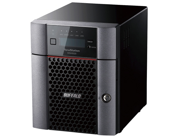 【キャッシュレス 5% 還元】 バッファロー NAS TeraStation WSH5420DN08W9 [ドライブベイ数:HDDx4 容量:HDD:8TB] 【】 【人気】 【売れ筋】【価格】