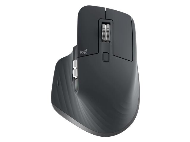 【キャッシュレス 5% 還元】 ロジクール マウス MX Master 3 Advanced Wireless Mouse MX2200sGR [グラファイト] [タイプ:レーザーマウス インターフェイス:Bluetooth/無線2.4GHz その他機能:カウント切り替え可能 重さ:141g] 【】 【人気】 【売れ筋】【価格】