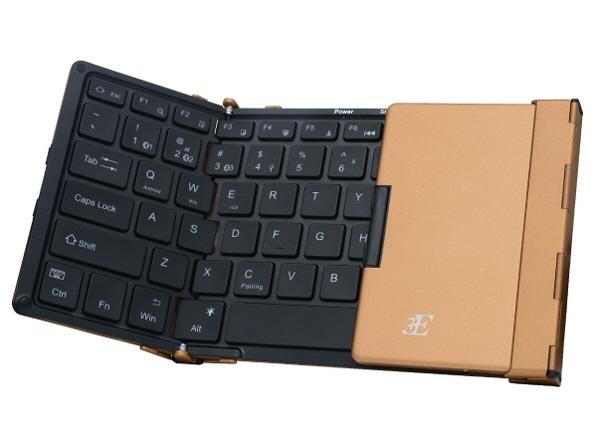 スリーイーホールディングス 最新アイテム キーボード Dual 3E-BKY9-BB ブラウンゴールド キーレイアウト:英語78 売れ筋 インターフェイス:USB 人気 価格 Bluetooth ふるさと割