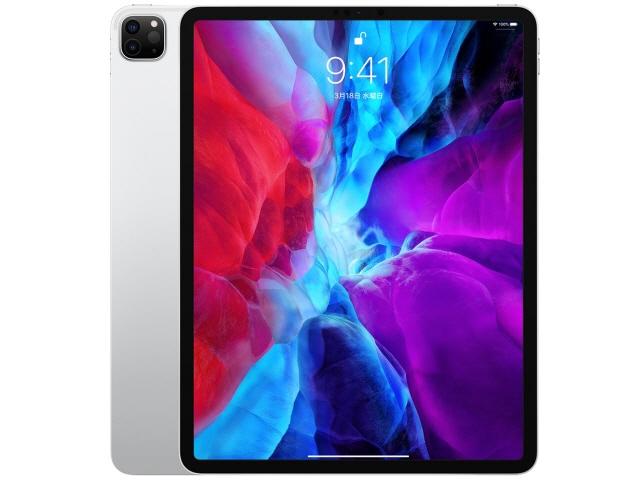 【キャッシュレス 5% 還元】 Apple タブレットPC(端末)・PDA iPad Pro 12.9インチ 第4世代 Wi-Fi 1TB 2020年春モデル MXAY2J/A [シルバー] [OS種類:iPadOS 画面サイズ:12.9インチ CPU:Apple A12Z ストレージ容量:1TB] 【】 【人気】 【売れ筋】【価格】